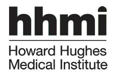 HHMI vertical signature black
