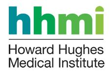 HHMI vertical signature color