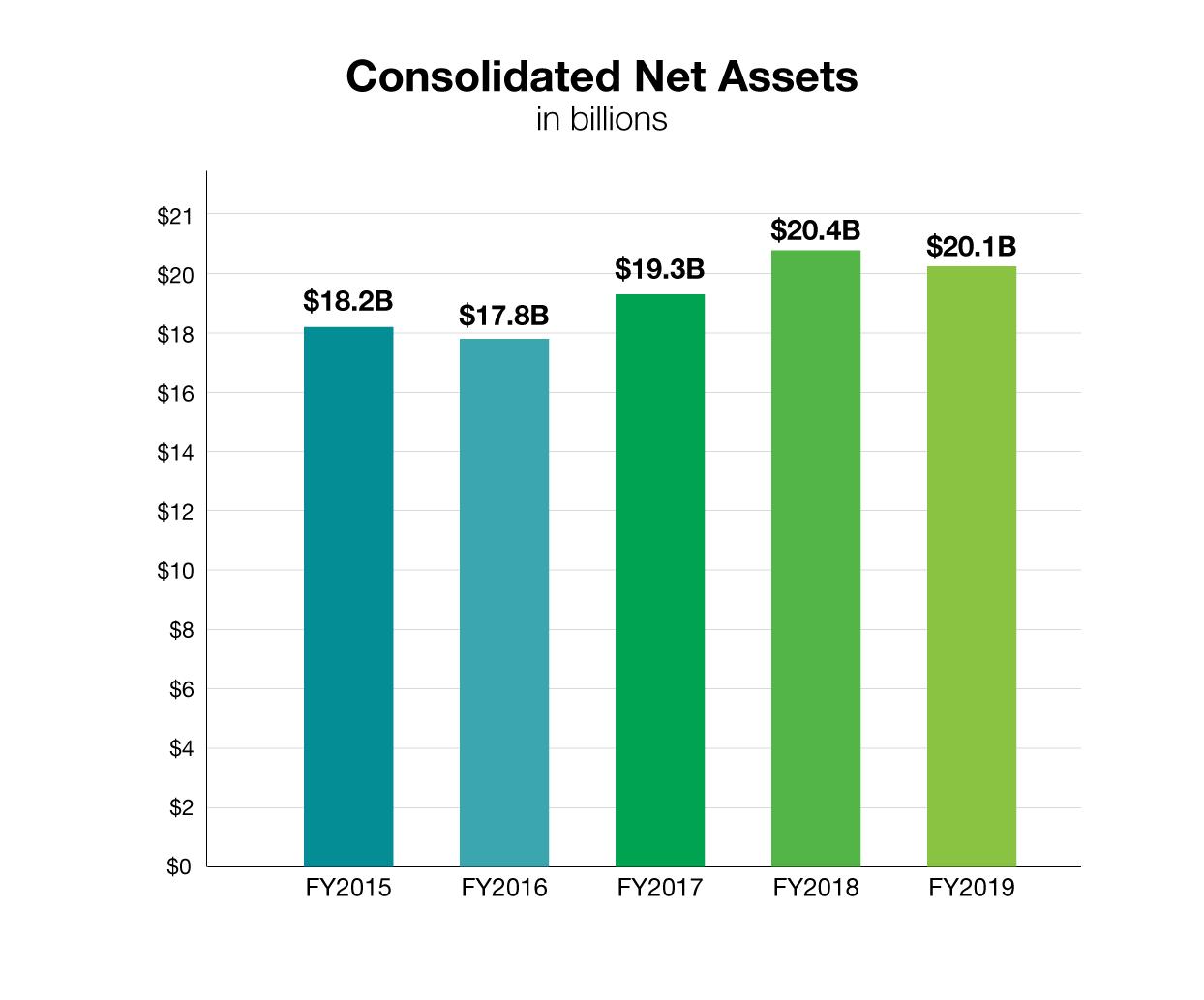 HHMI financial assets, FY2019