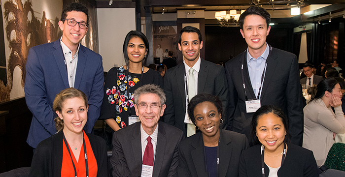 Medical Fellows' dinner and discussion with HHMI Investigator and Nobel Laureate Robert Lefkowitz