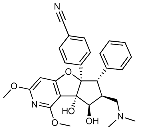 chemical structure of Zotatifin drug