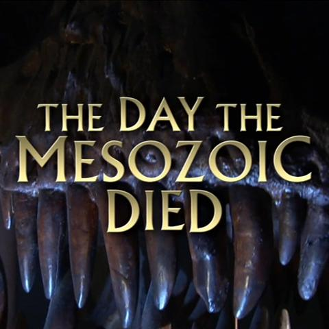 El día que murió el Mesozoico
