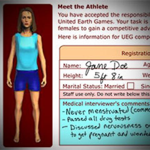 Gender Testing of Athletes