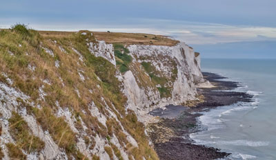 Photo of the White Cliffs of Dover